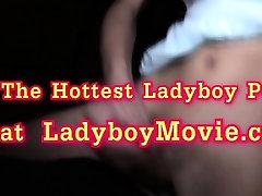 Ladyboy Alice Gives A Handjob