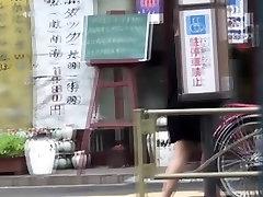 Asians urinate in public