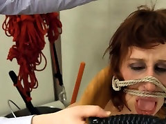 To much of rope and extreme BDSM submissive penetrating