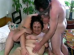 Two fat girls get to share one guy