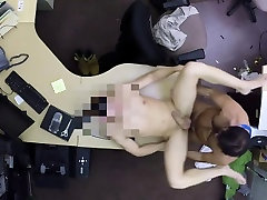 Latino guy shows his cock sucking skills in a pawn shop