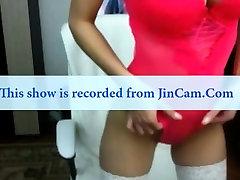Busty redhead milf in webcam