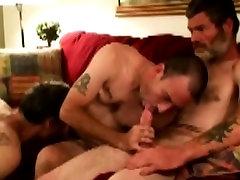 Mature straight bears sweet gay threeway blowjob