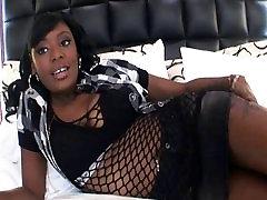19 yr old Ebony Teen w Big Tits does Anal