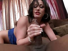 Jennifer White gets anal from a big black cock