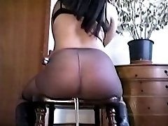 Big tits hottie bound and bent-over for a ready to bang session