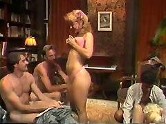 Hot smoking sex video group sex action with Nina Hartley