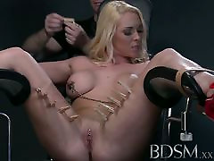 BDSM XXX Defiant sub gets Masters wrath before squirting