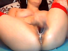 Webcam Girl - Anal Dildo - Squirt - Spread Pussy