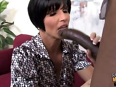 Hot busty mom creampied by black in front of daughter