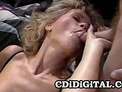 Kimberly Kane - hung muscle men Pornstar Double Penetration Scene