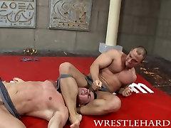 Wrestlehard.com gay wrestling David-Sebastian