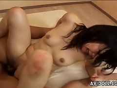 Sweet Japanese babe loves kinky anal sex