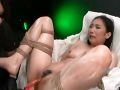 Asian Teen Made To Orgasm With Power Tools