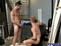 Gay mature boss fucked by the new start