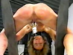 Warehouse pervers couple and their slaves 2 of 2