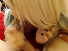 chubby blonde gets fucked