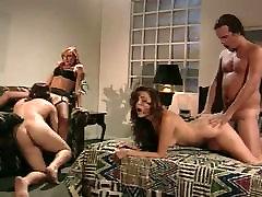 retro porn foursome