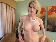 Sexy MOM with cock fucked by lucky guy