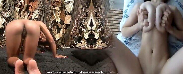 Голая Сандрин Холт Видео