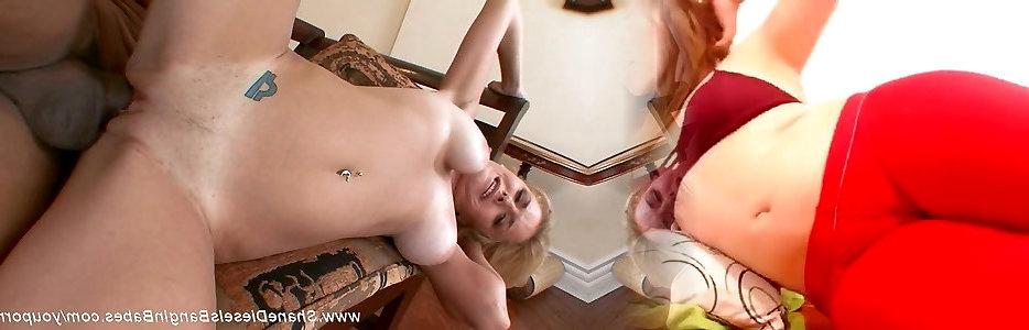 Geile blondine nackt